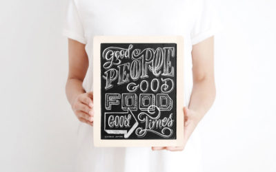 Workshop lettering em giz
